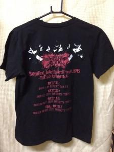 baby metal のTシャツ販売中