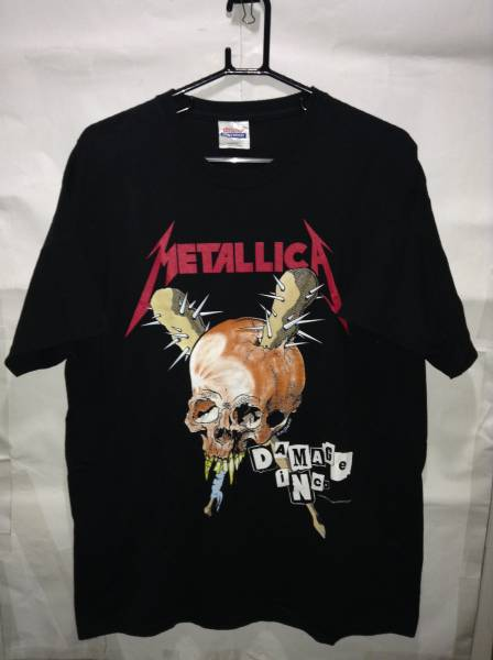 メタリカのTシャツ高価買取、下取り、処分