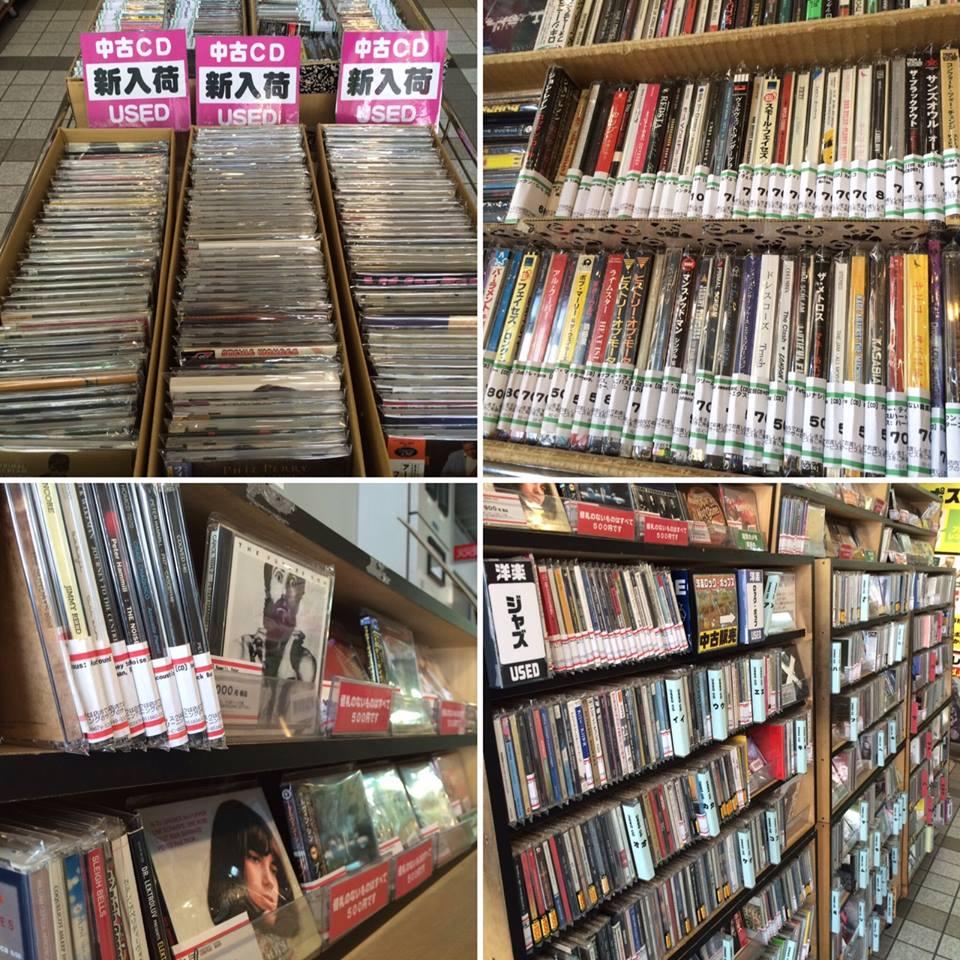 大阪の中古CD販売